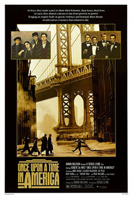 Once Upon a Time in America: Extended Director's Cut Photos + Posters