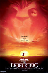 The Lion King (1994) showtimes and tickets