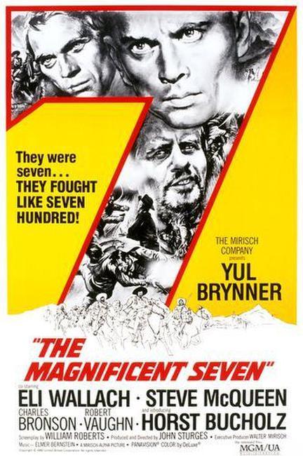 The Magnificent Seven / Junior Bonner Photos + Posters