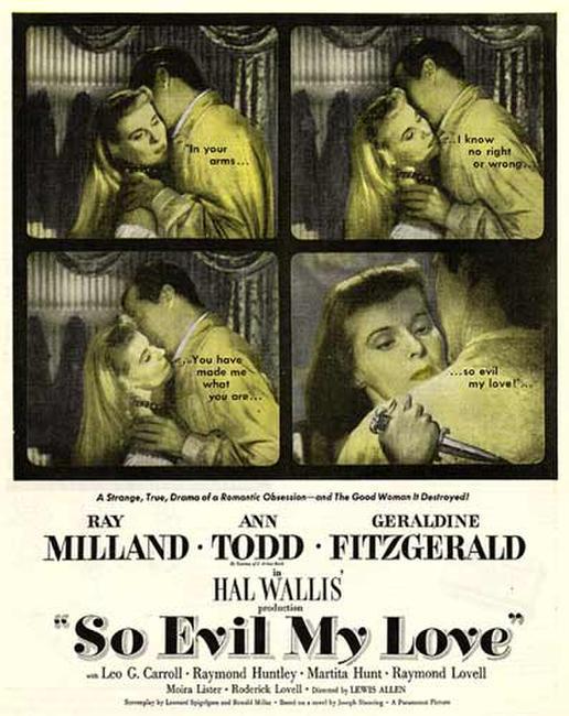 So Evil My Love / Experiment Perilous Photos + Posters