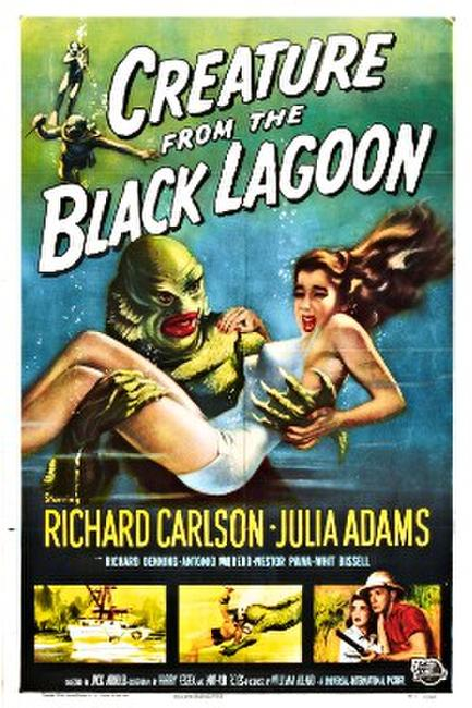 Creature From the Black Lagoon 3D Photos + Posters