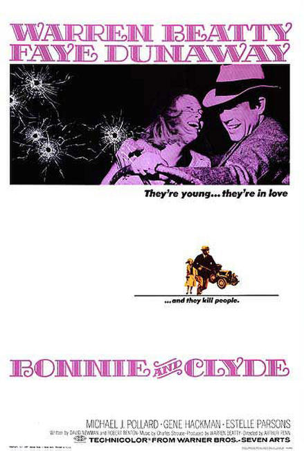 Bonnie and Clyde / Alice's Restaurant Photos + Posters