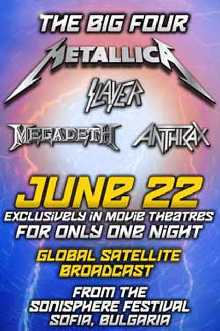 The Big Four: Anthrax, Megadeth, Metallica, Slayer Photos + Posters