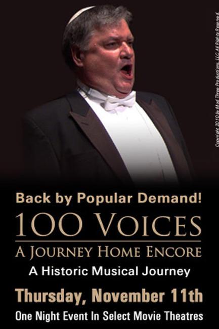 100 Voices: A Journey Home Encore Photos + Posters