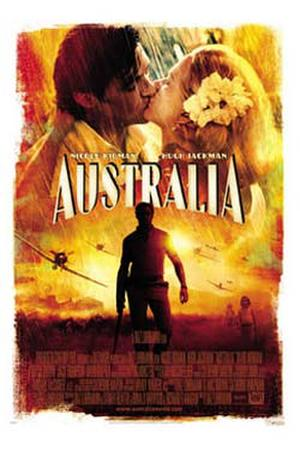 """Poster Art for """"Australia."""""""