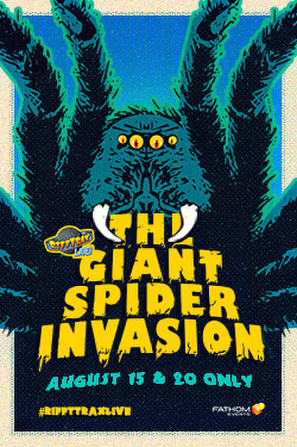 RiffTrax Live: Giant Spider Invasion Photos + Posters