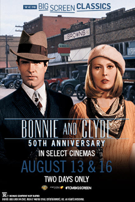 Bonnie and Clyde 50th Anniversary (1967) presented by TCM Photos + Posters