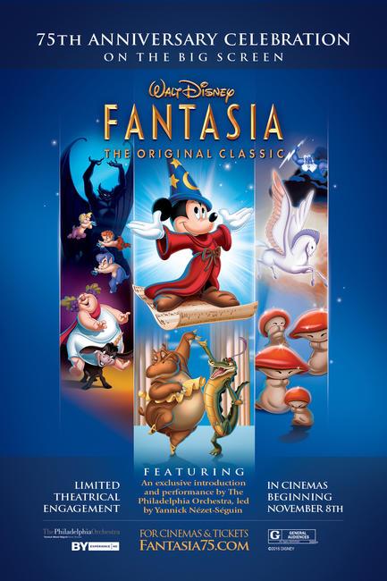 Walt Disney's Fantasia 75th Anniversary Photos + Posters
