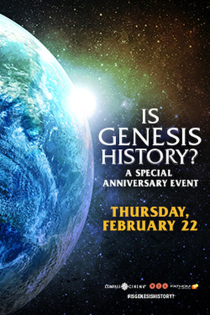 Is Genesis History? Anniversary Event Photos + Posters