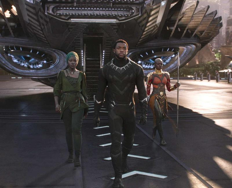 Black Panther Opening Night Fan Event Photos + Posters