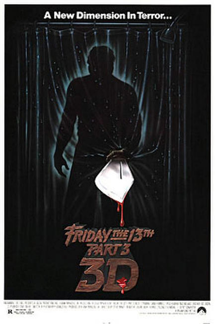 Friday the 13th Part 3 - 3D Photos + Posters