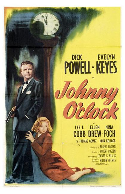 Johnny O'Clock / Johnny Allegro Photos + Posters