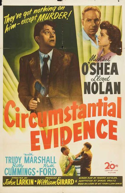 Circumstantial Evidence / The Sign Of The Ram Photos + Posters