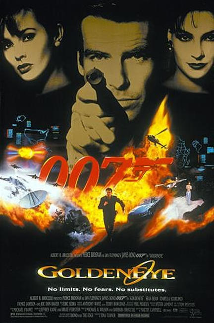 GoldenEye / Tomorrow Never Dies Photos + Posters