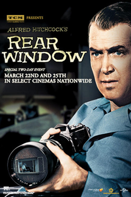 TCM Presents Rear Window Photos + Posters