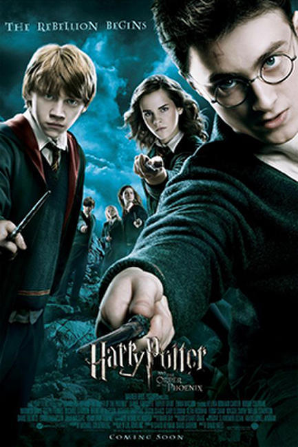 HARRY POTTER 5-8 Photos + Posters