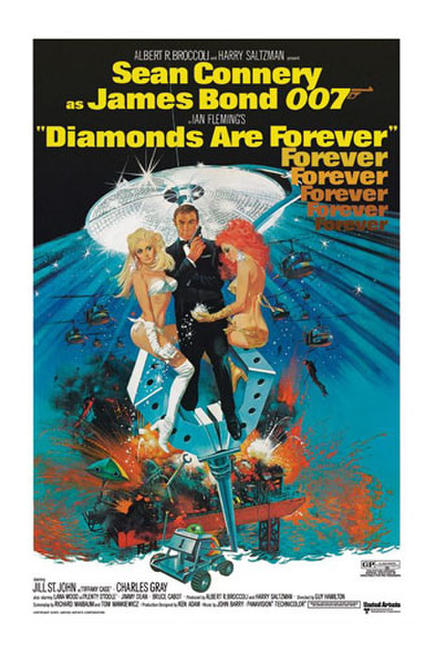 Diamonds Are Forever / Live and Let Die Photos + Posters