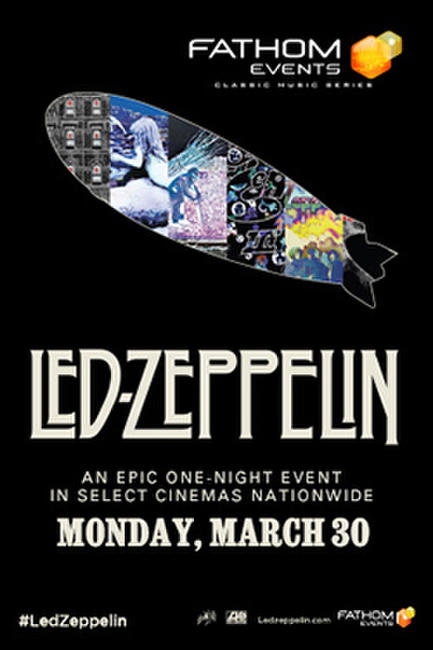 Classic Music Series: Led Zeppelin Photos + Posters
