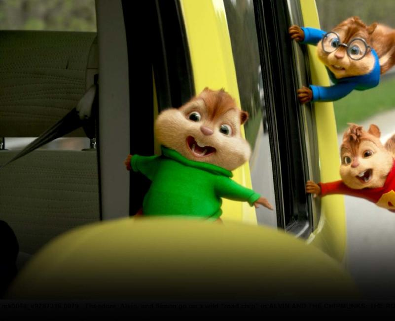 Alvin and the Chipmunks: The Road Chip Photos + Posters