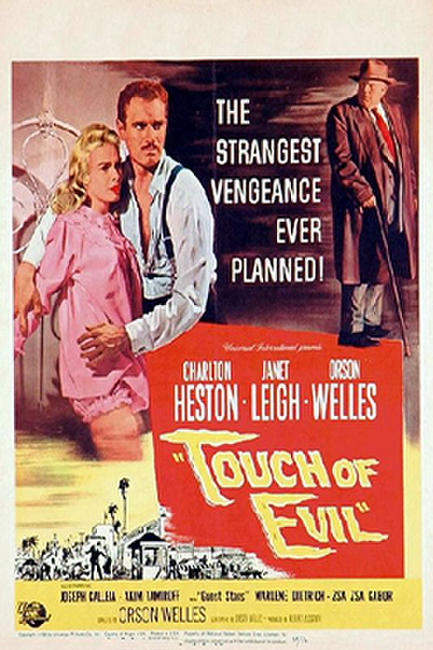 TOUCH OF EVIL / MAGICIAN: THE ASTONISHING LIFE AND WORK OF ORSON WELLES Photos + Posters