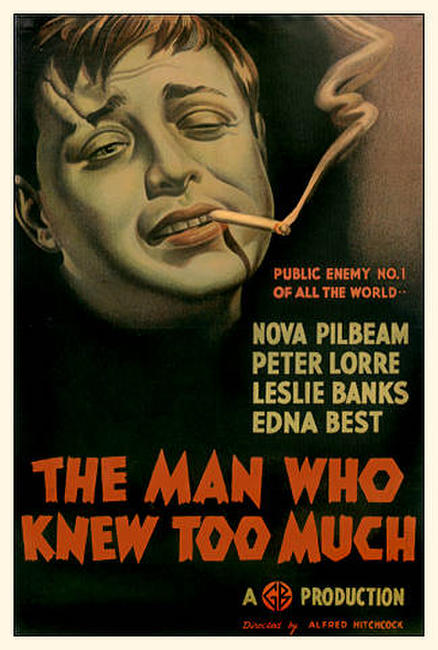 The Man Who Knew Too Much / To Catch a Thief Photos + Posters