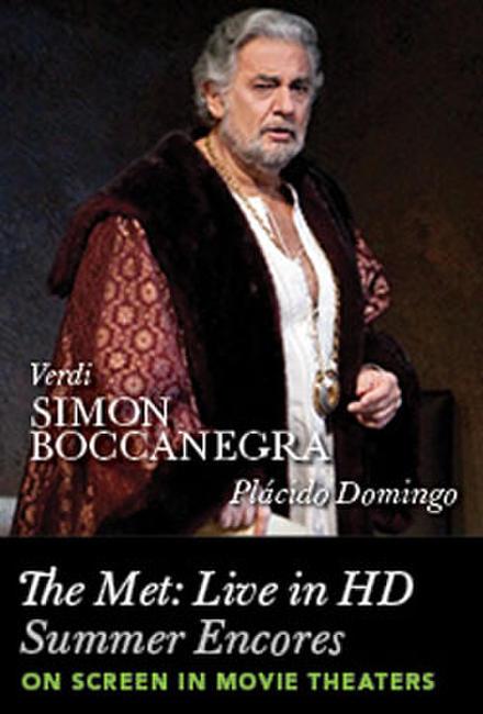 The Met Summer Encore: Simon Boccanegra Photos + Posters
