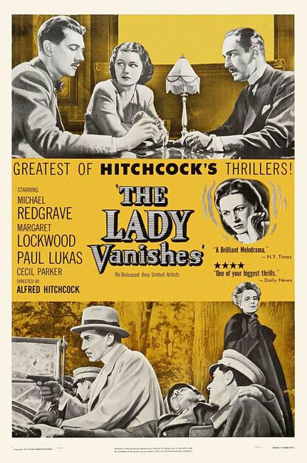 The Lady Vanishes/The Wrong Man Photos + Posters