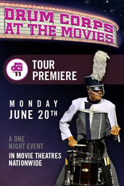 DCI 2011 Tour Premiere Photos + Posters