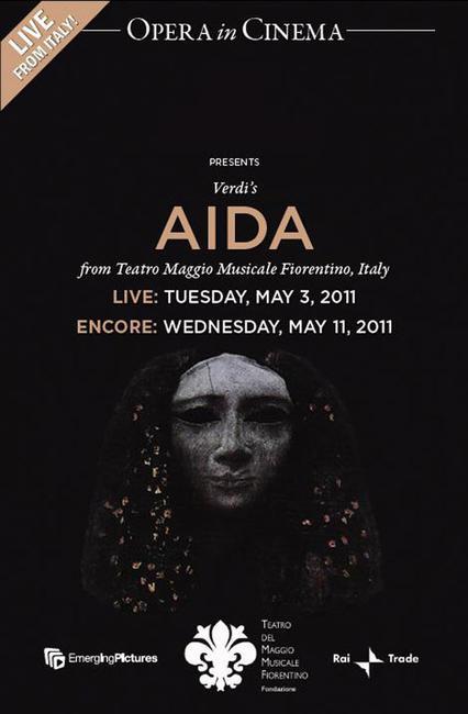 Aida (Teatro del Maggio Musical Fiorentino) LIVE Photos + Posters