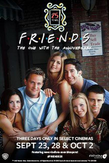 Friends 25th: The One With The Anniversary Photos + Posters