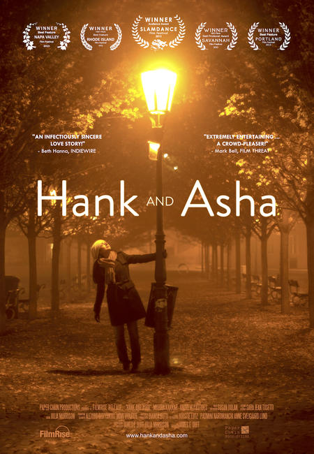 Hank and Asha Photos + Posters