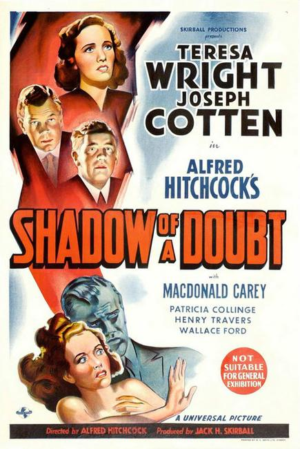 Shadow of a Doubt / Stage Fright Photos + Posters