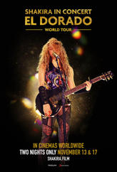 Shakira in concert el dorado world tour_one sheet_usa