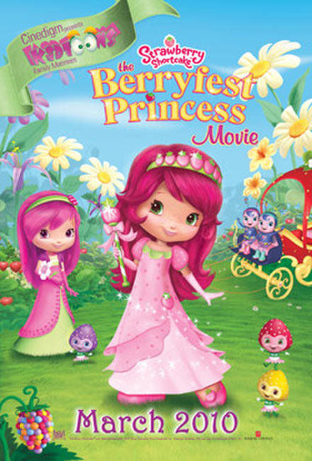Strawberry Shortcake: The Berryfest Princess Photos + Posters