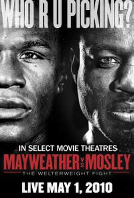 Mayweather vs. Mosley Fight LIVE Photos + Posters