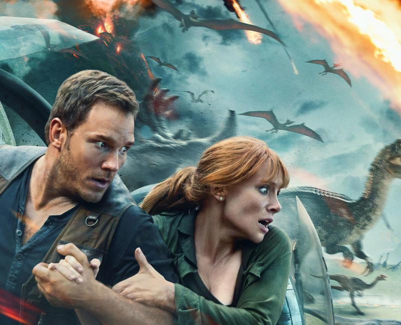 Jurassic World: Fallen Kingdom Photos + Posters