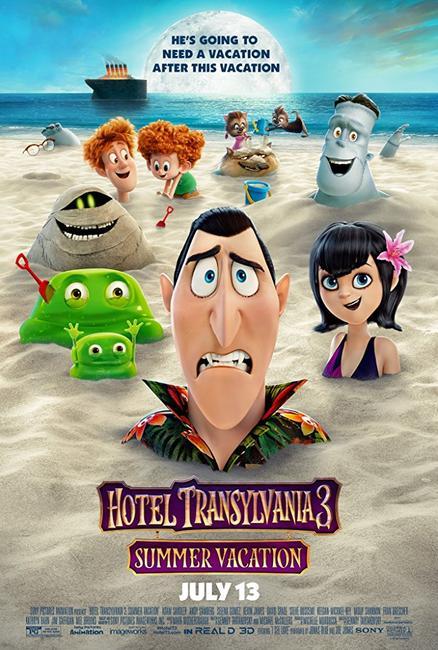 Summer Series: Hotel Transylvania 3: Summer Vacation Photos + Posters