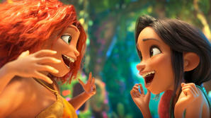 Watch Exclusive 'The Croods: A New Age' Clip: Sneaking in