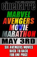 Cinebarre's Marvel Avengers Movie Marathon