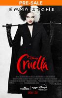 Cruella (2021) poster