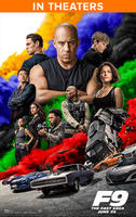 F9 The Fast Saga (2021) poster