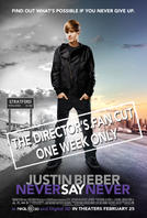 Justin Bieber Never Say Never: The Director's Fan Cut 3D