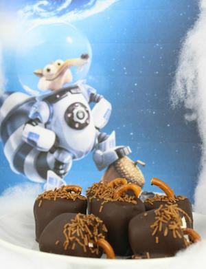Celebrate the New 'Ice Age' with Chocolate-Covered Marshmallows