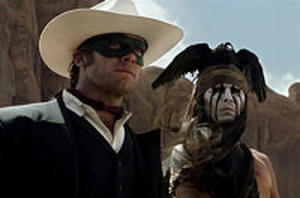 Latest 'Lone Ranger' Trailer Brings The Action