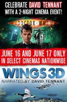 Doctor Who Cybermen + Wings 3D