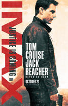 Jack Reacher: Never Go Back The IMAX Experience showtimes and tickets