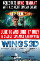 Doctor Who Cybermen + Wings 3D