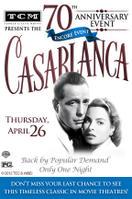 TCM Presents Casablanca 70th Anniversary Event Encore